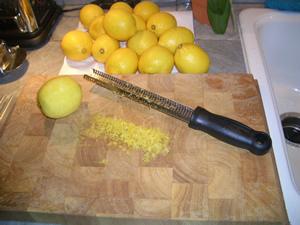 Zesting Non-Organic Lemons