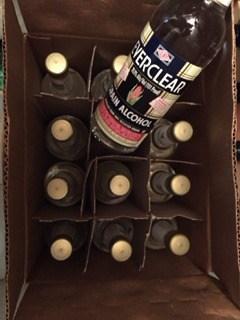 Case of 151 Proof Grain Alcohol