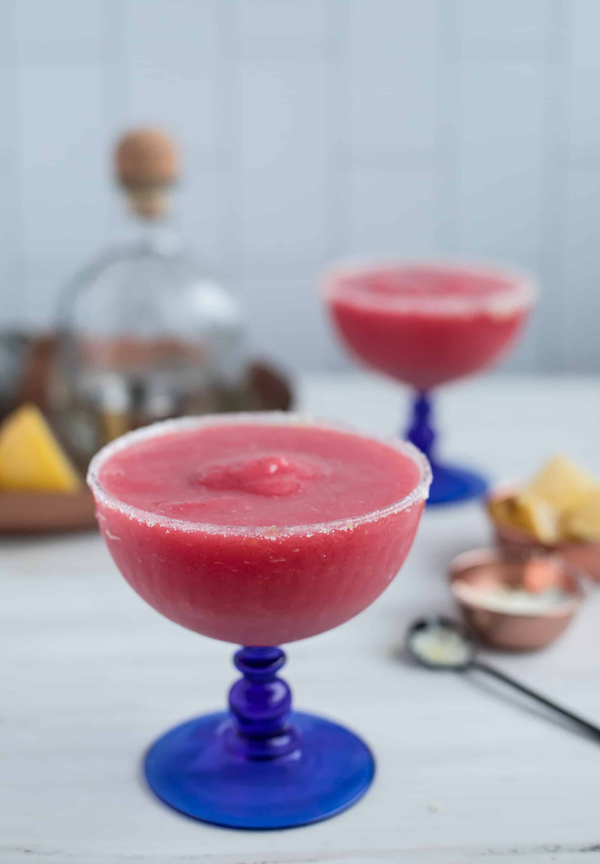 The Chilly Berry Margarita - A Limoncello Cocktail from LimoncelloQuest