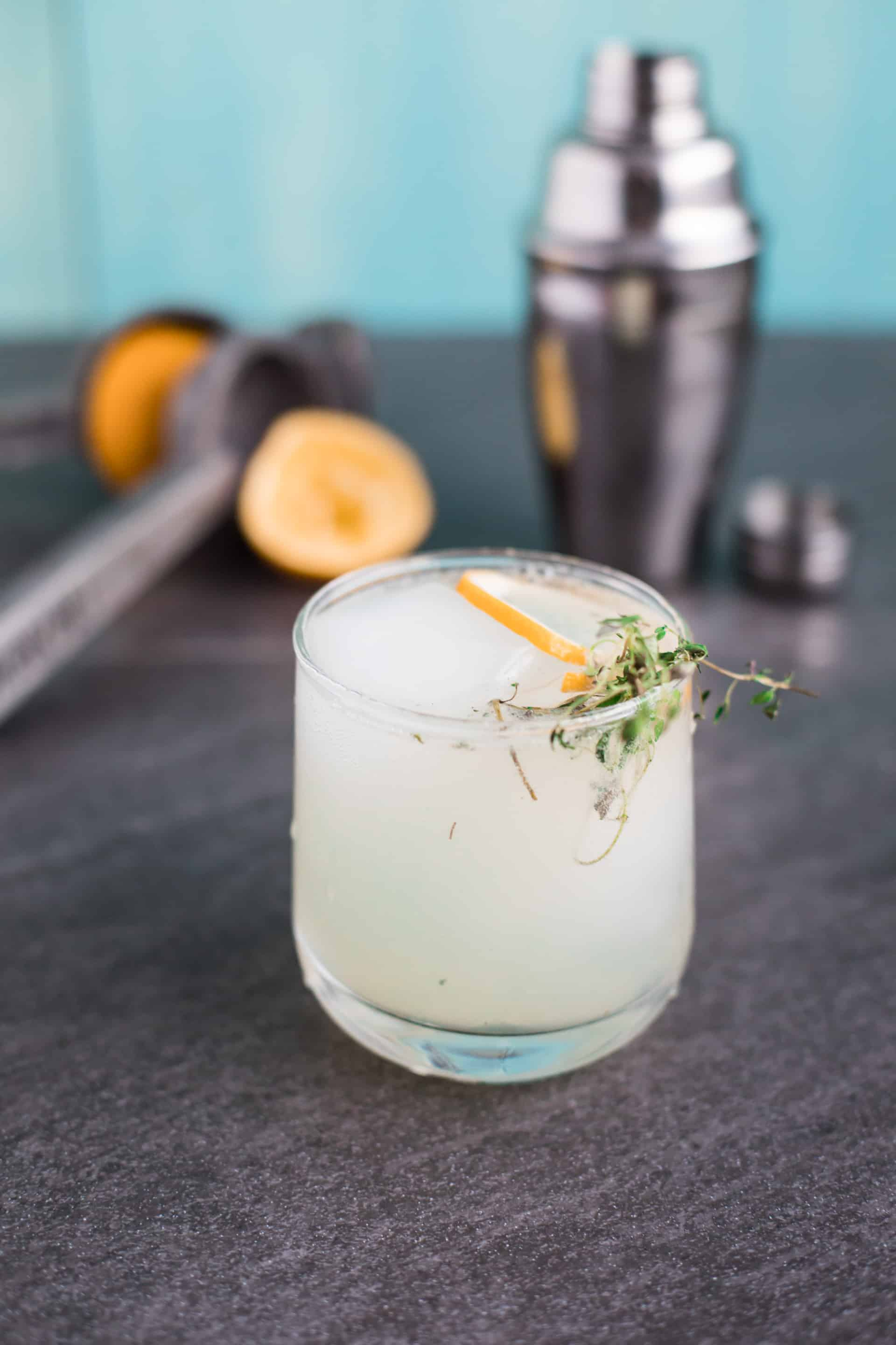The Party Thyme - A Gin and Limoncello Cocktail from LimoncelloQuest