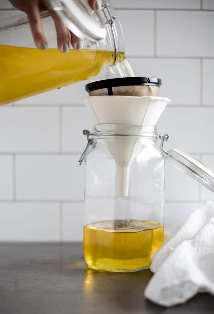 How to Filter Limoncello