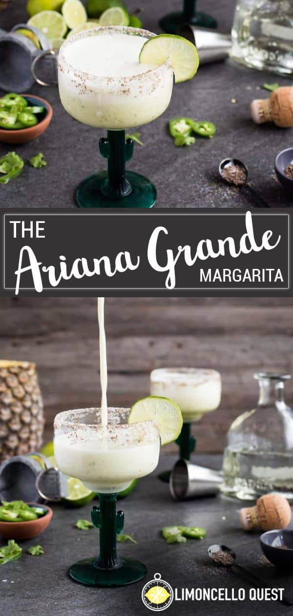 The Ariana Grande - A Spicy Limoncello Margarita from LimoncelloQuest