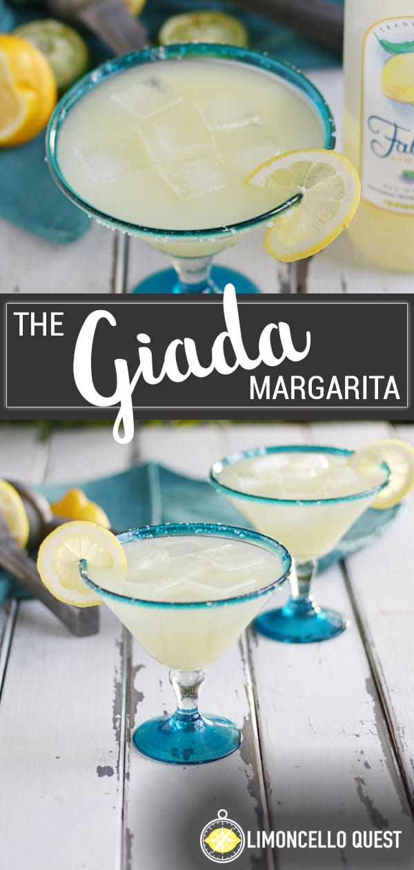 The Giada - A Lemony Margarita from LimoncelloQuest