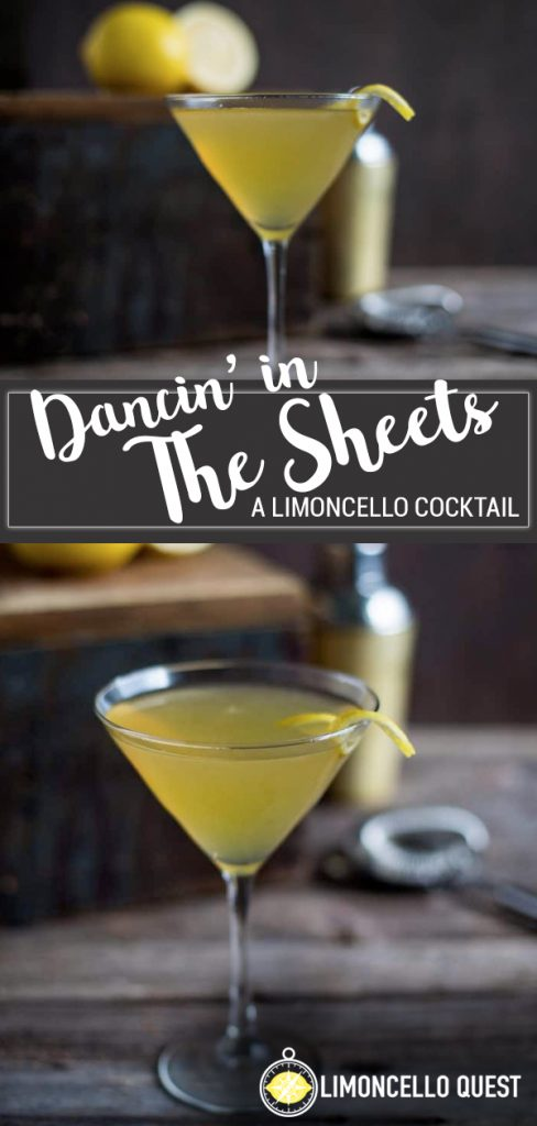 Limoncello Between the Sheets