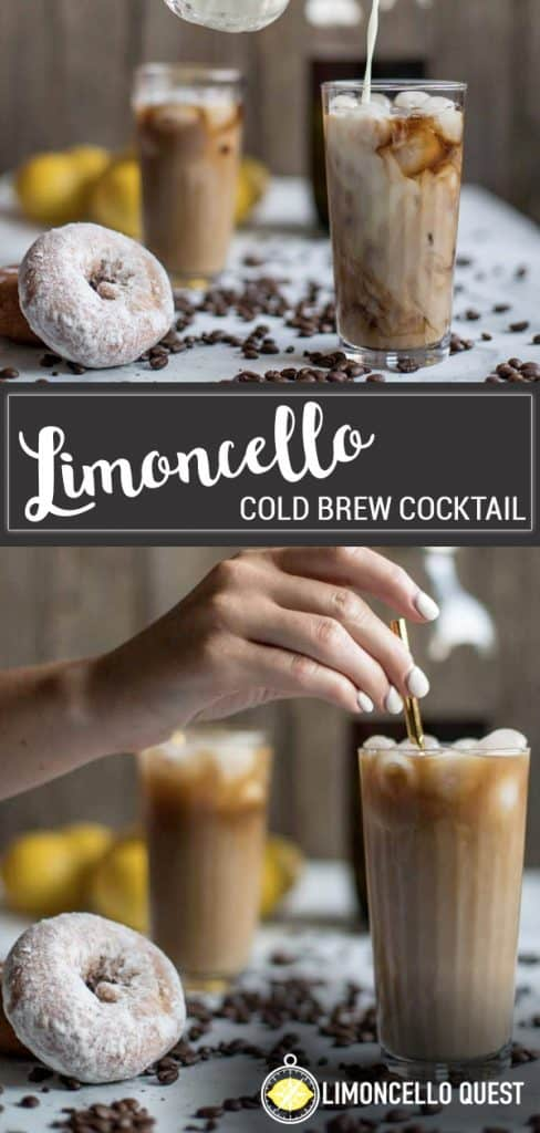Limoncello Cold Brew Cocktail