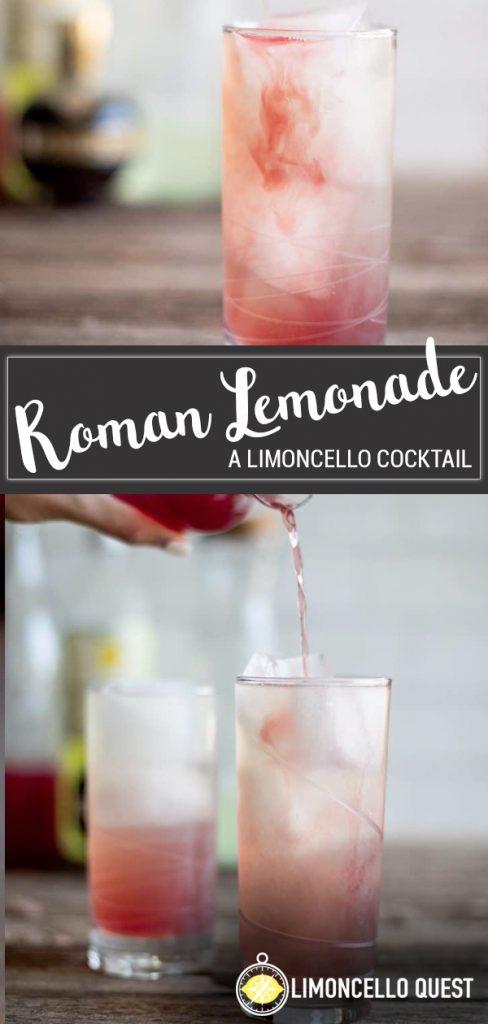 Limoncello Pink Lemonade