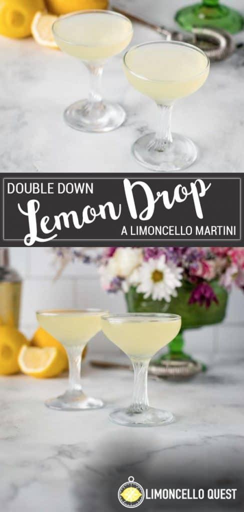 Limoncello Lemon Drop