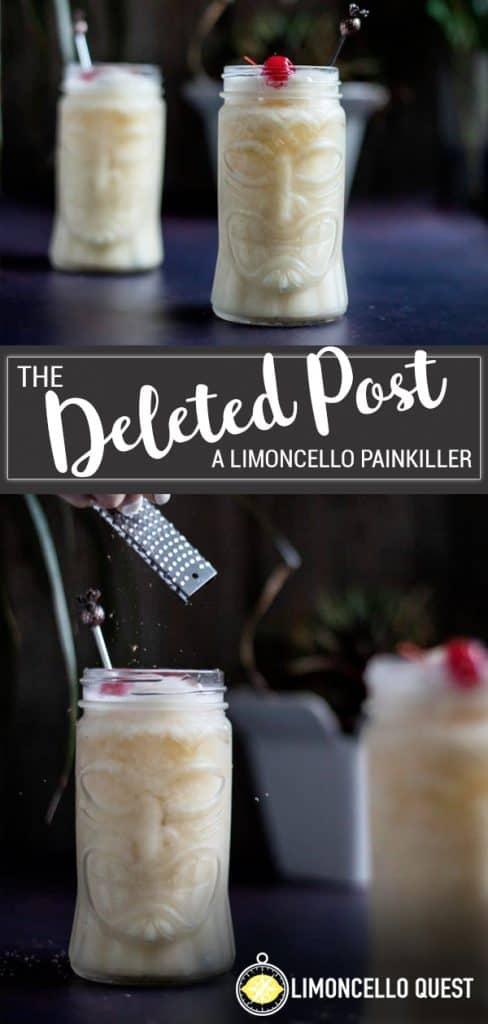 Limoncello Painkiller
