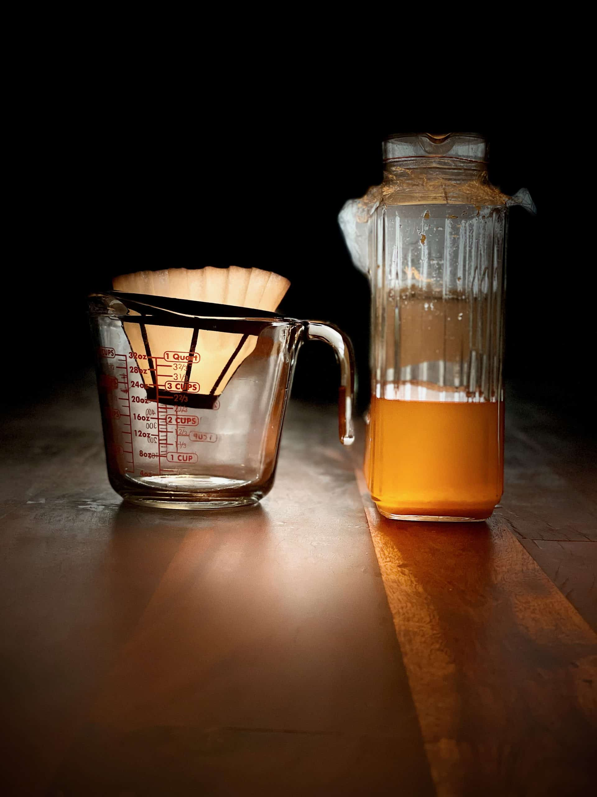 Filtering Orange Infusion