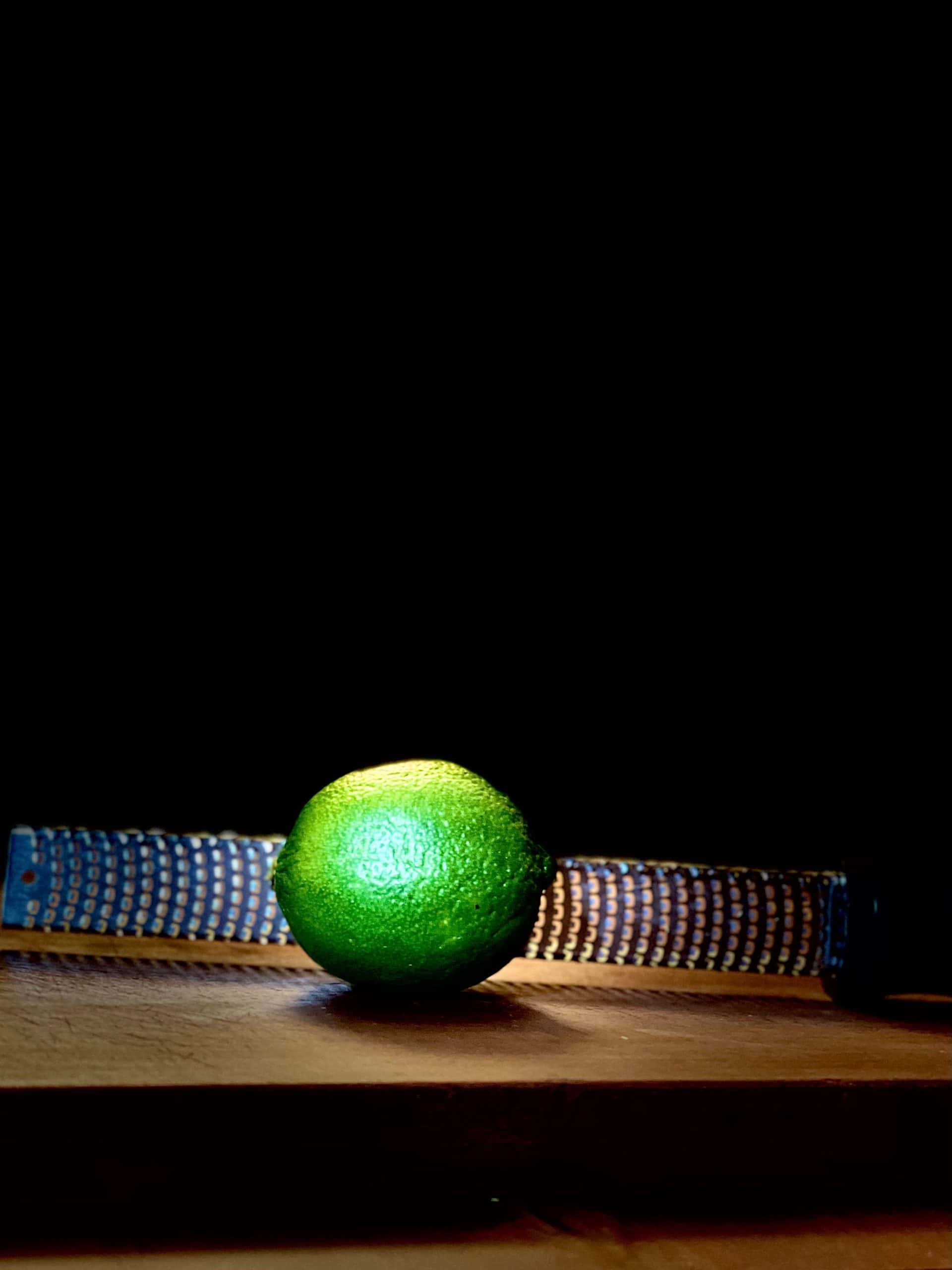 Zesting limes